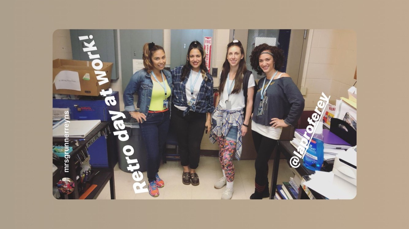 Karen Reynoso-Botero, Cat Valik, Jennifer Gunther & Arline Reynoso, Throwback Thursday, 5-9-19