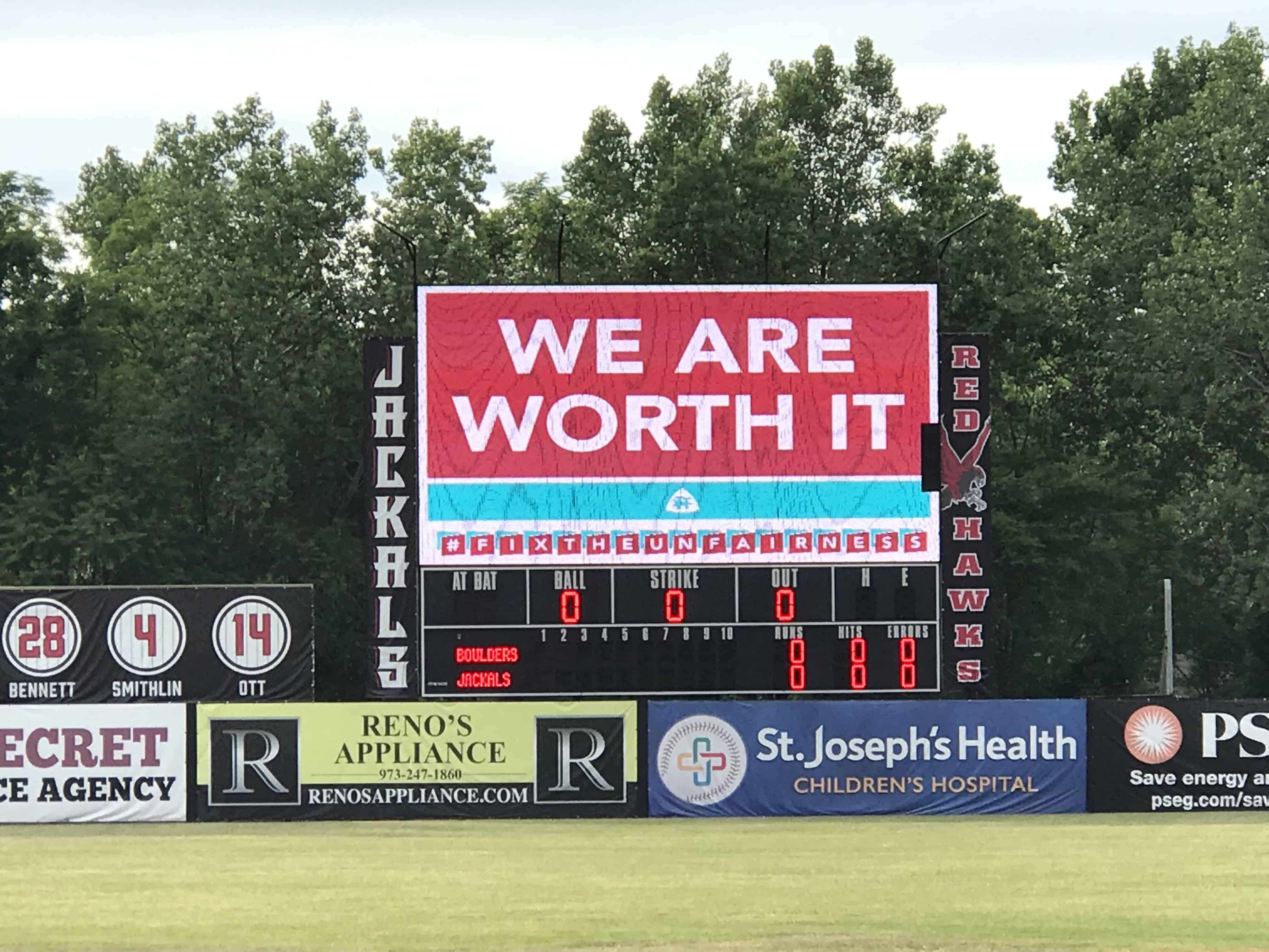 We-Are-Worth-It-on-scoreboard-pic-by-Mike-Pettineo-3